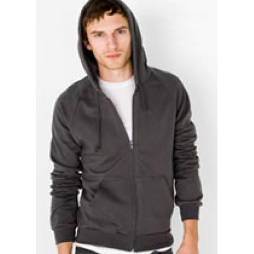 American Apparel Unisex Fleece Zip-Up Hoody 5497