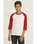 ATC™ EUROSPUN® RING SPUN BASEBALL YOUTH SHIRT 0822Y