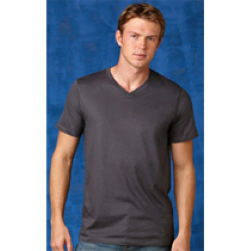 Alstyle Ringspun Fitted V-Neck T-Shirt 5300